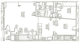 809 Central Avenue Floor Plan
